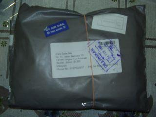 My parcel